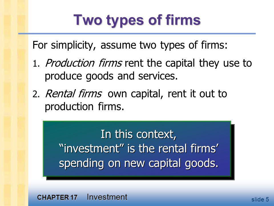 The capital rental market
