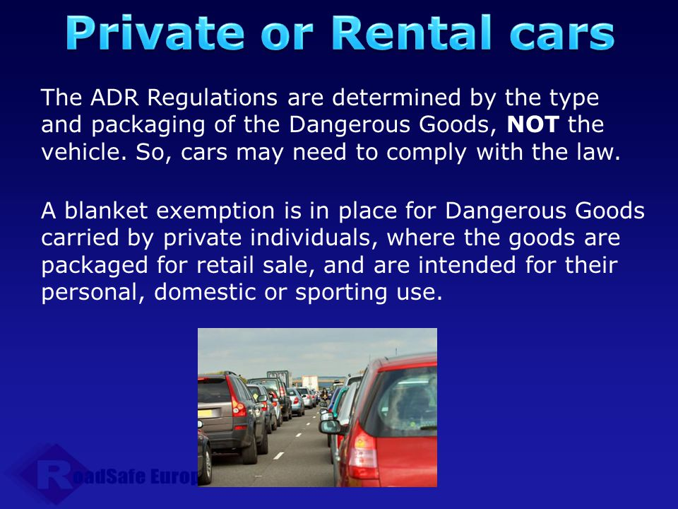 Private or Rental cars
