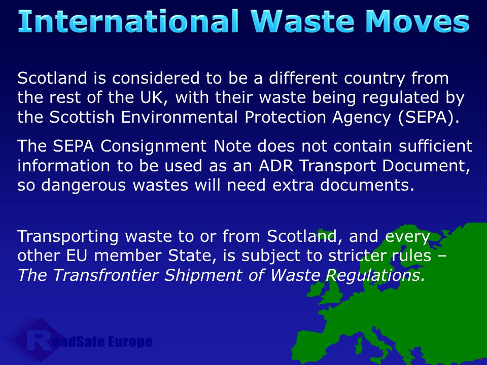 International Waste Moves