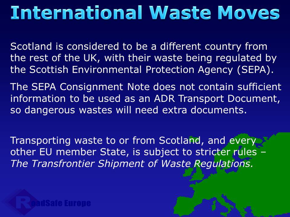 International Waste Moves
