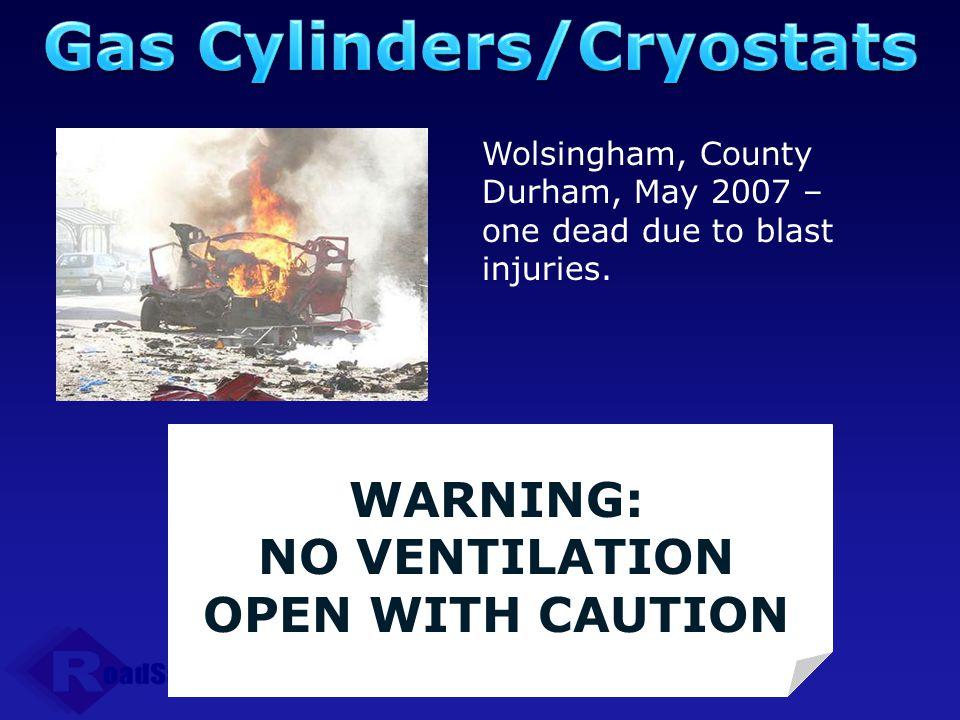 Gas Cylinders/Cryostats