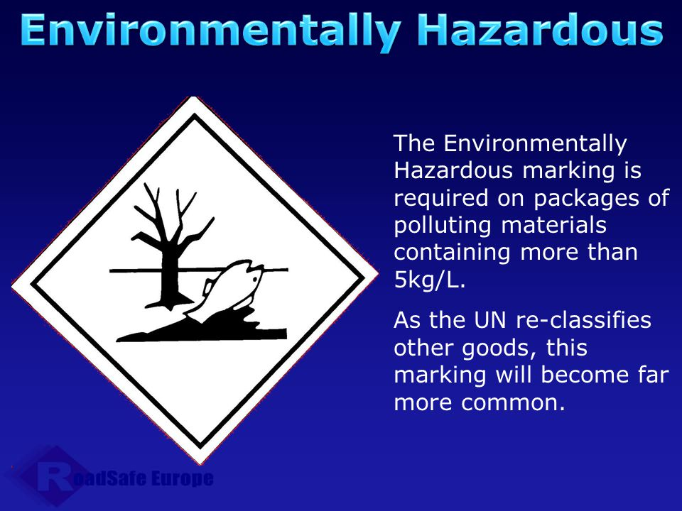 Environmentally Hazardous