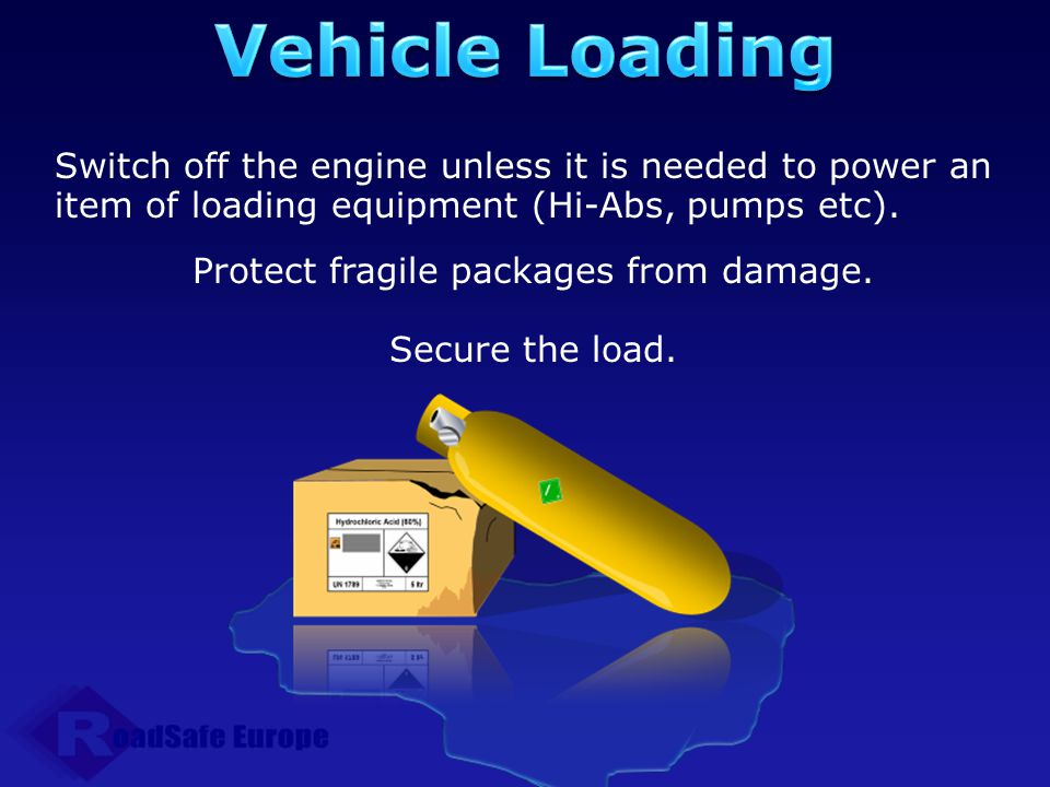 Protect fragile packages from damage.