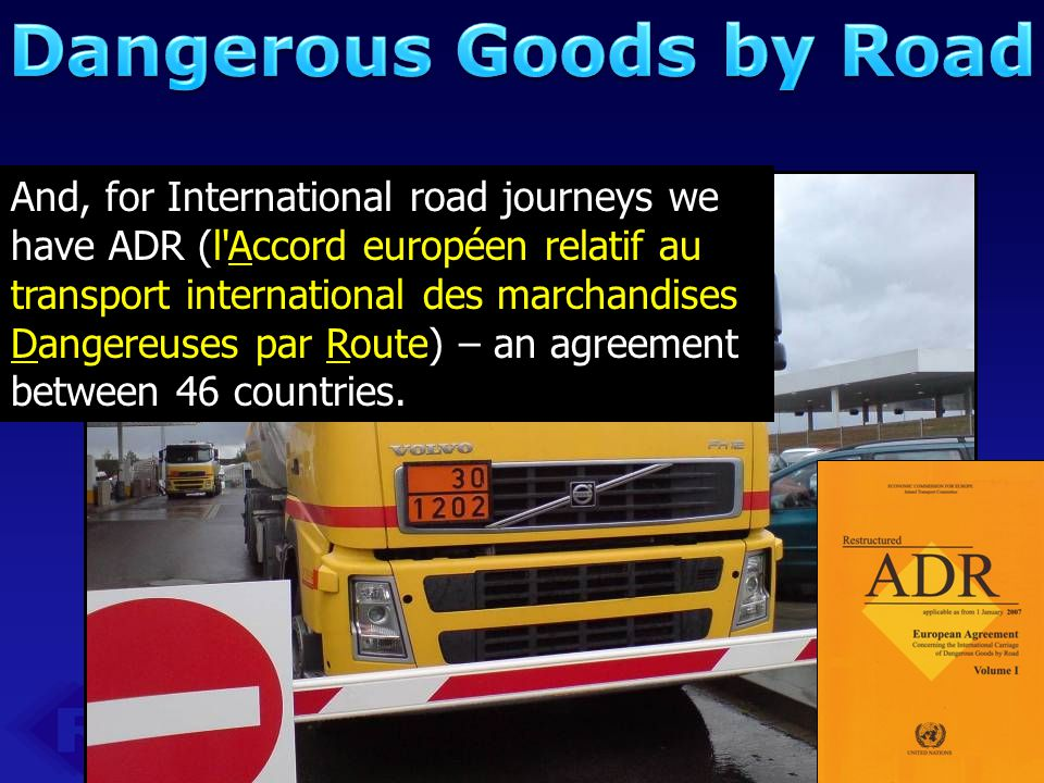 Dangerous Goods by Road