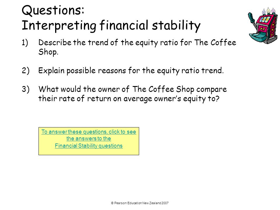 Questions: Interpreting financial stability