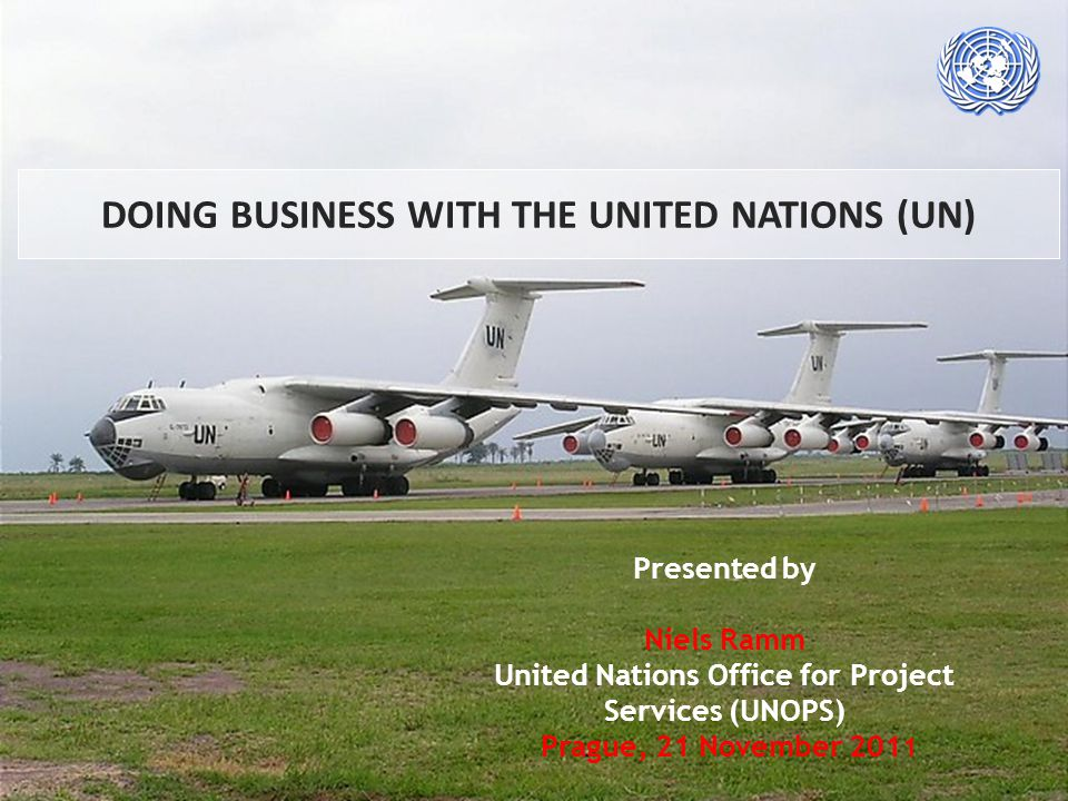 DOING BUSINESS WITH THE UNITED NATIONS (UN)
