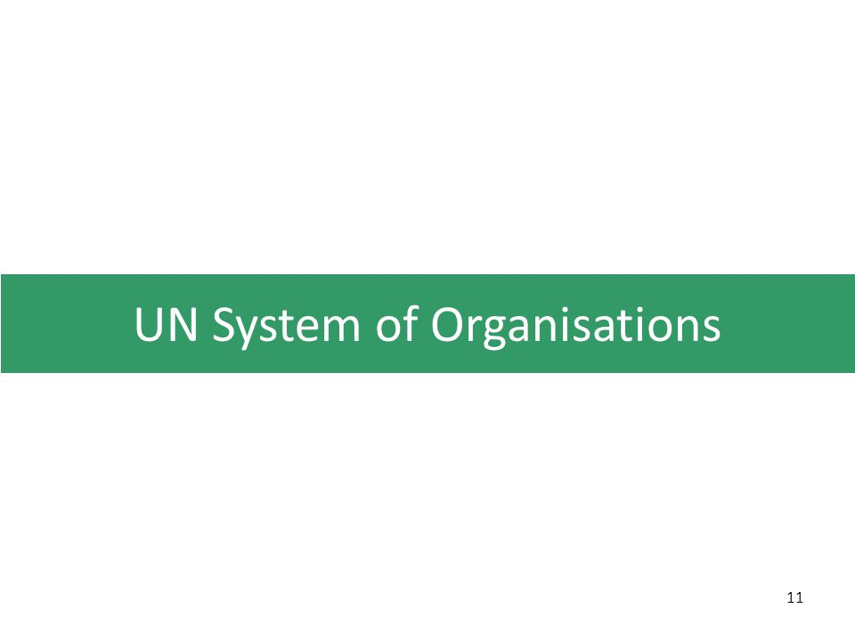 UN System of Organisations