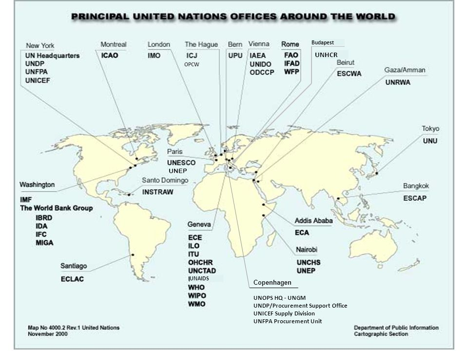 Le Nazioni Unite nel mondo