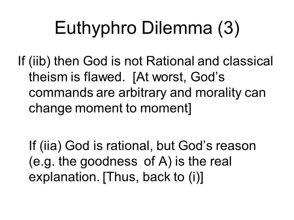 Euthyphro Dilemma (3)