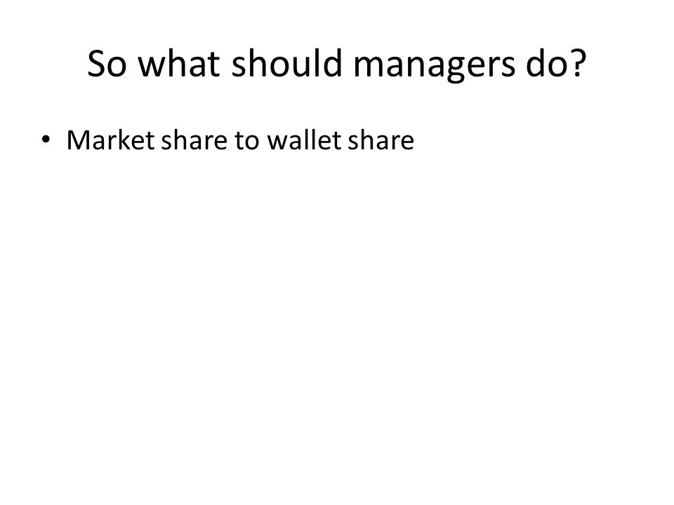 So what should managers do