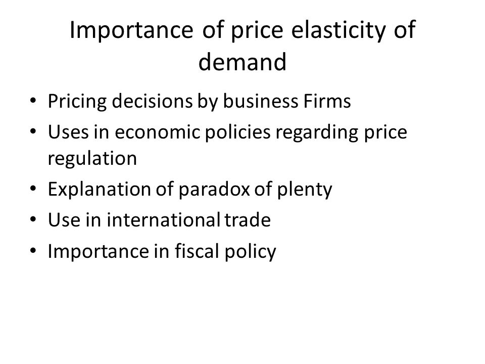 Importance of income elasticity to firms essay