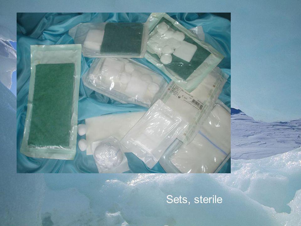Sets, sterile
