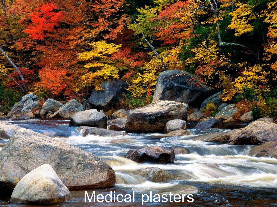 Medical plasters