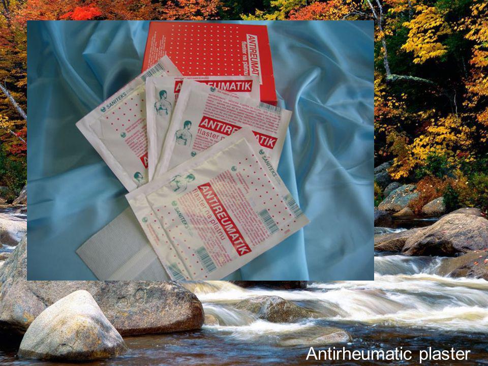Antirheumatic plaster
