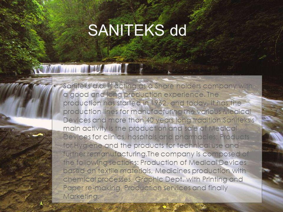 SANITEKS dd