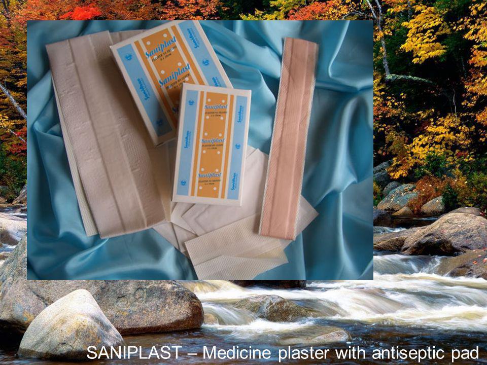 SANIPLAST – Medicine plaster with antiseptic pad