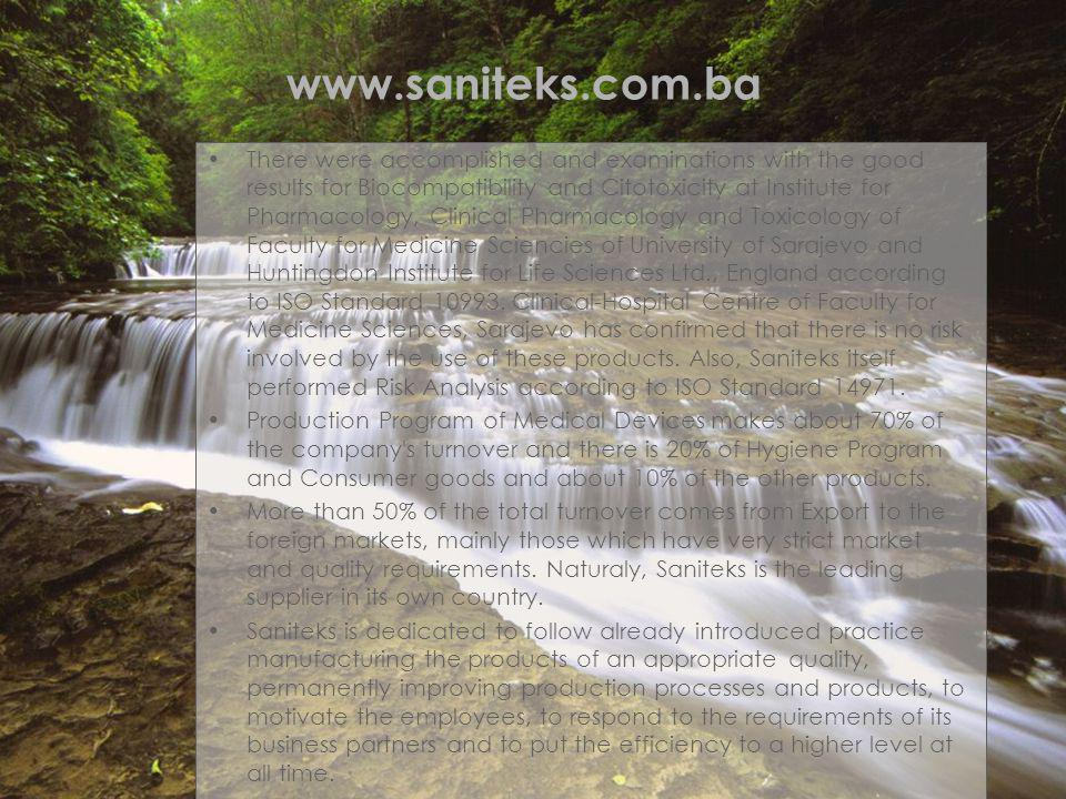 www.saniteks.com.ba