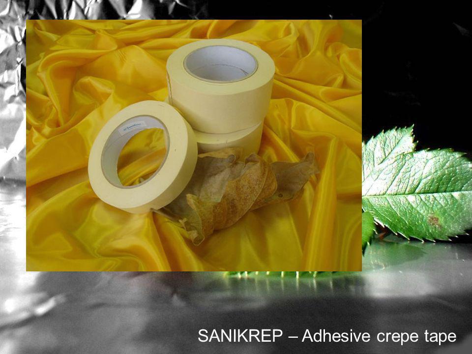 SANIKREP – Adhesive crepe tape