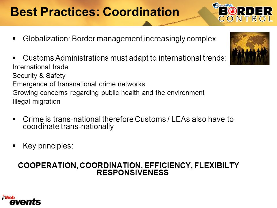 Best Practices: Coordination