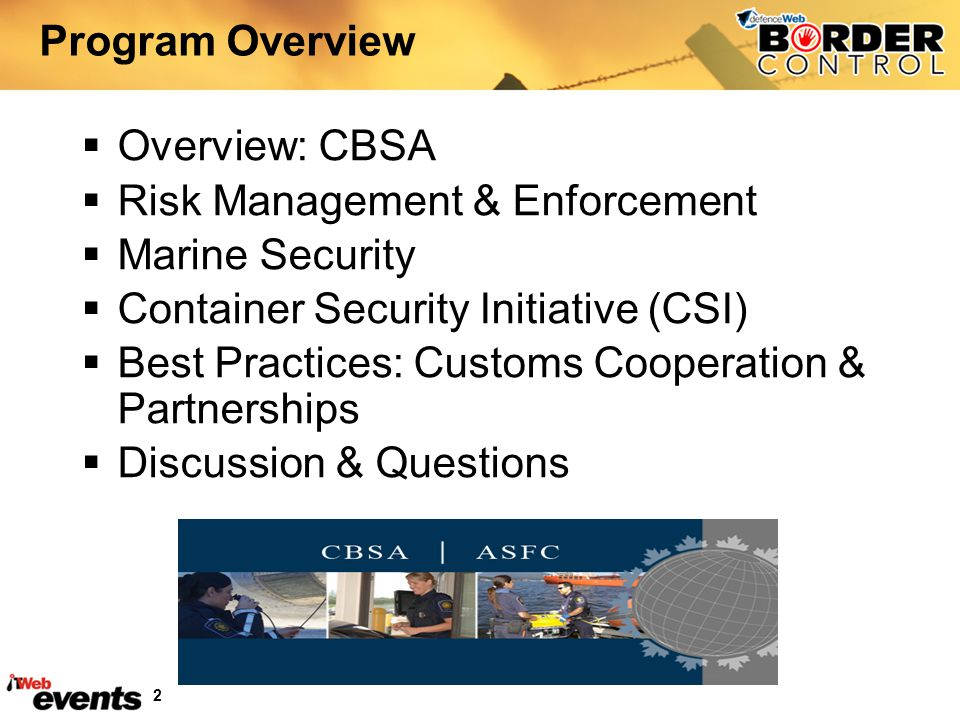 Risk Management & Enforcement Marine Security