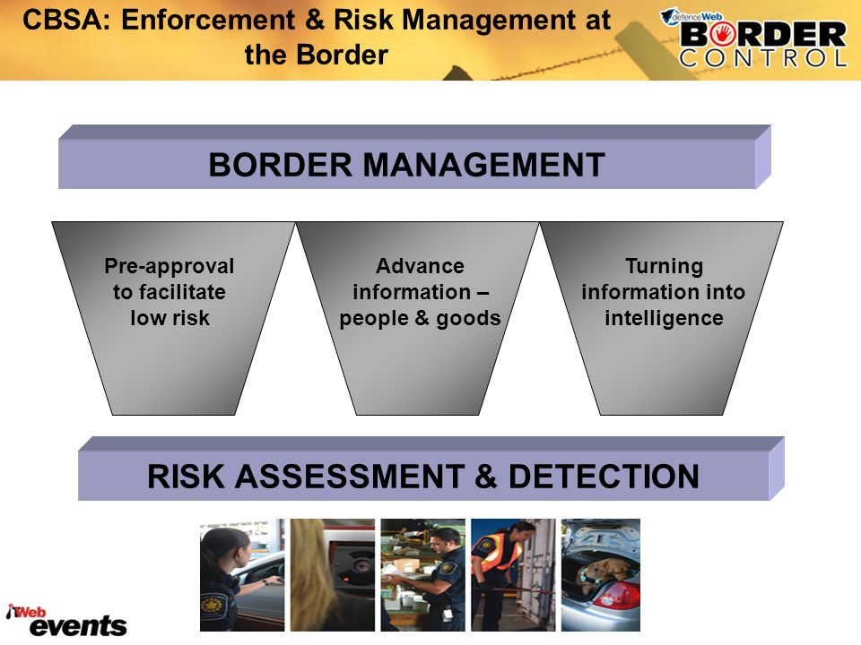 CBSA: Enforcement & Risk Management at the Border