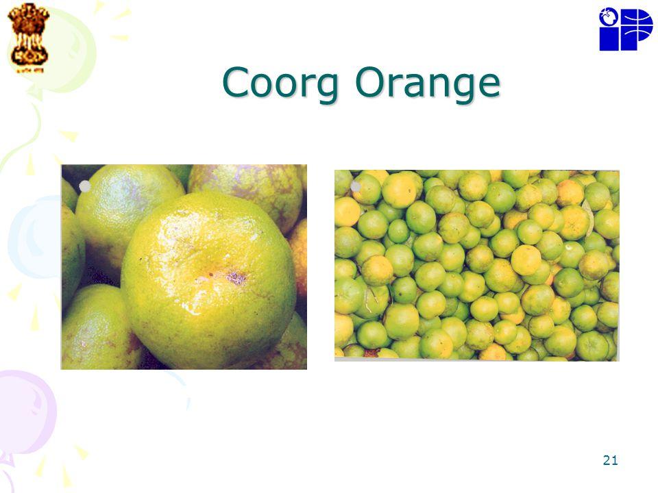 Coorg Orange