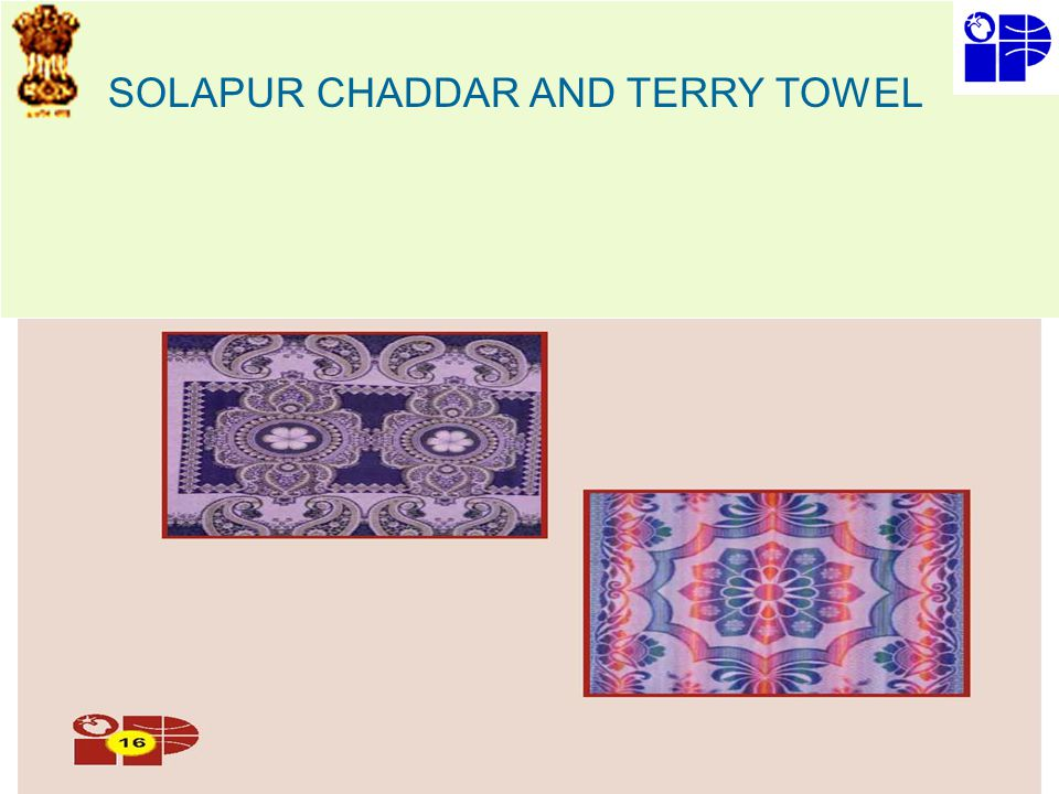 SOLAPUR CHADDAR AND TERRY TOWEL