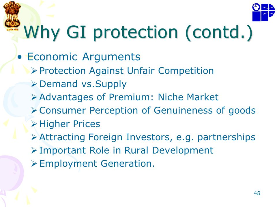 Why GI protection (contd.)