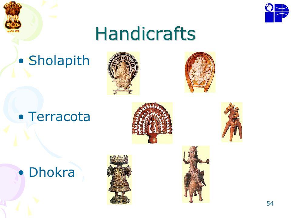 Handicrafts Sholapith Terracota Dhokra
