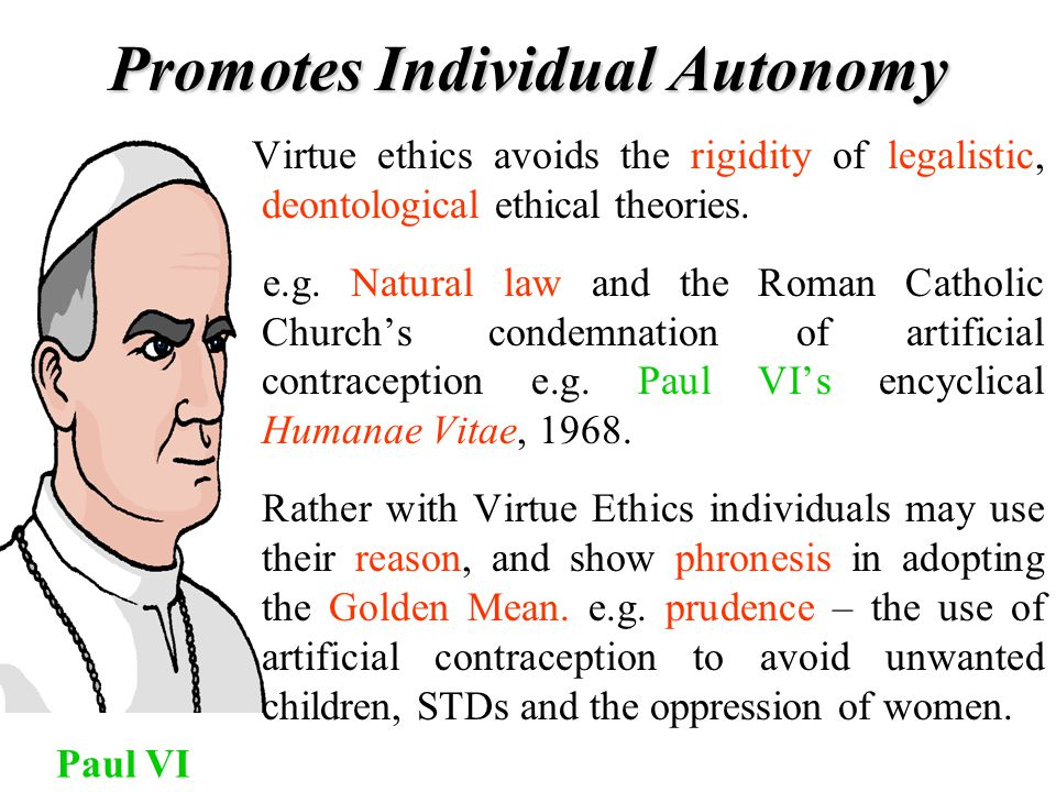 Promotes Individual Autonomy