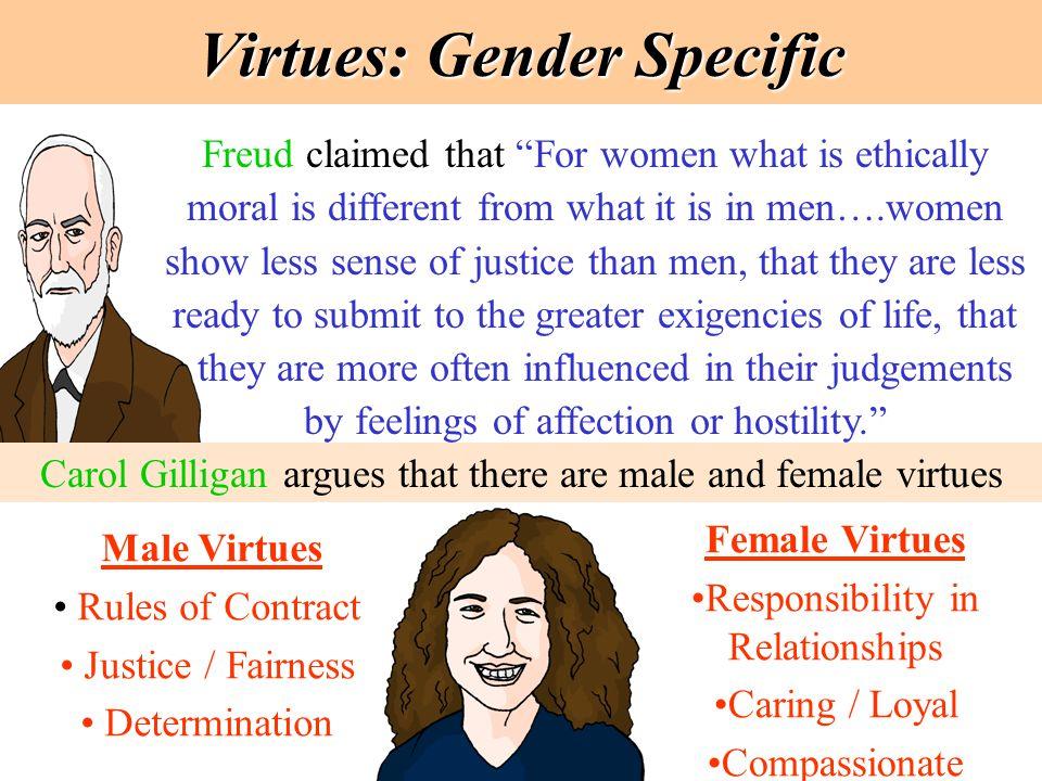 Virtues: Gender Specific