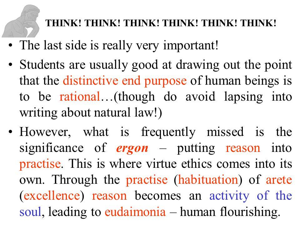 THINK! THINK! THINK! THINK! THINK! THINK!