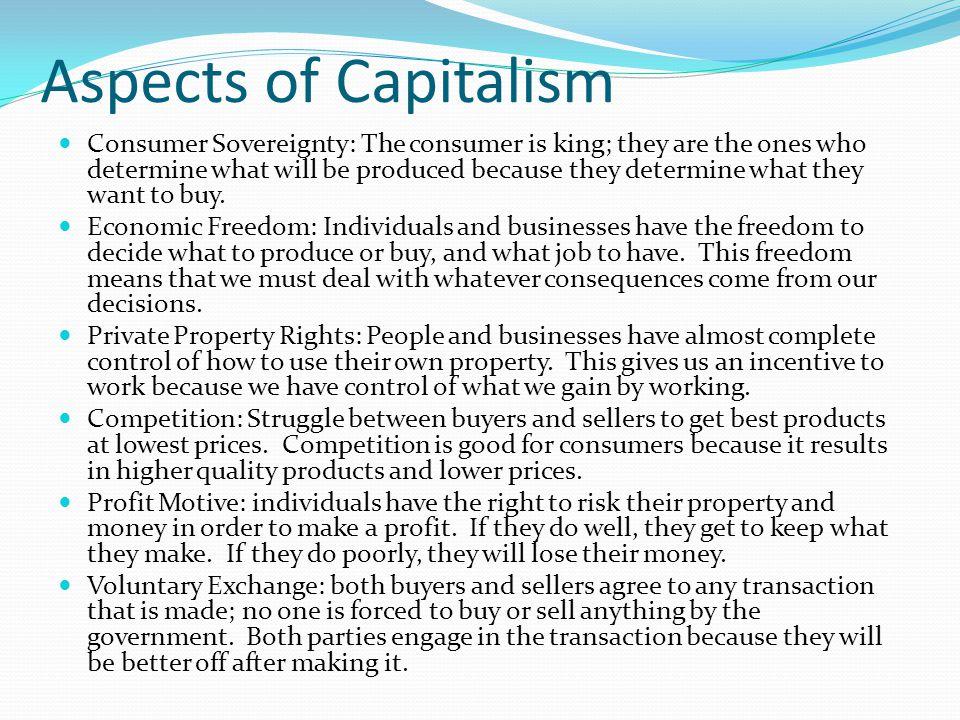 Aspects of Capitalism