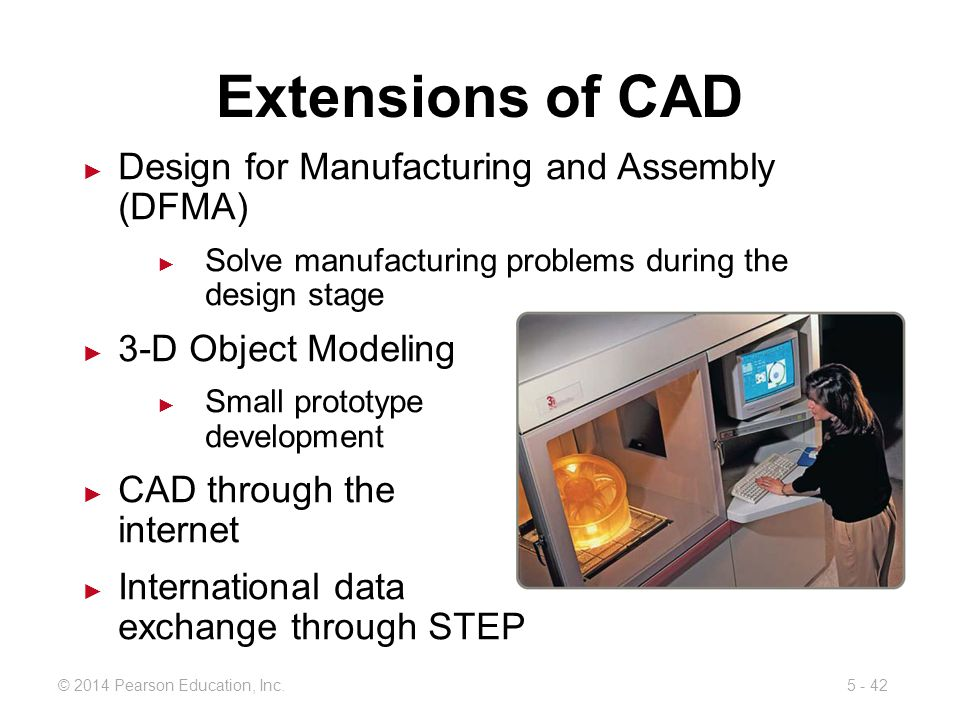 Extensions of CAD Design for Manufacturing and Assembly (DFMA)