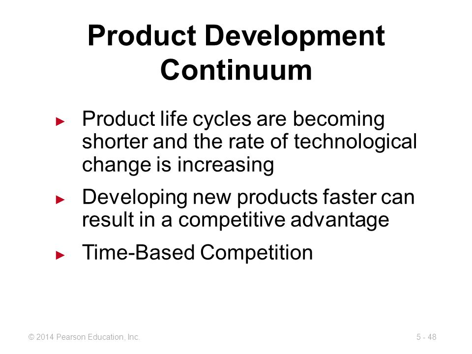 Product Development Continuum