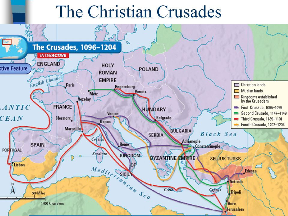 The Christian Crusades