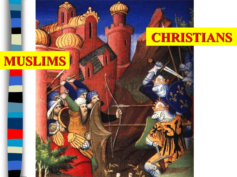 CHRISTIANS MUSLIMS