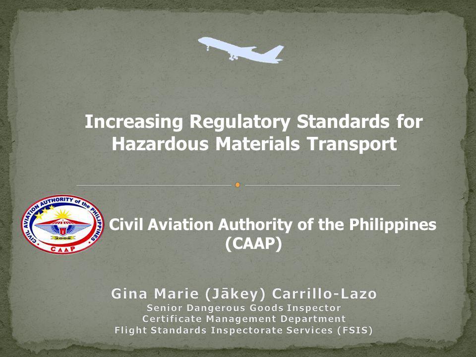 Increasing Regulatory Standards for Hazardous Materials Transport