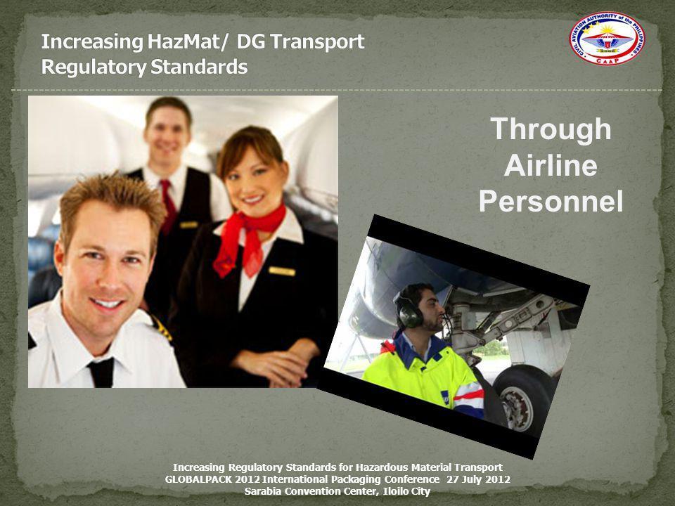 Increasing HazMat/ DG Transport Regulatory Standards