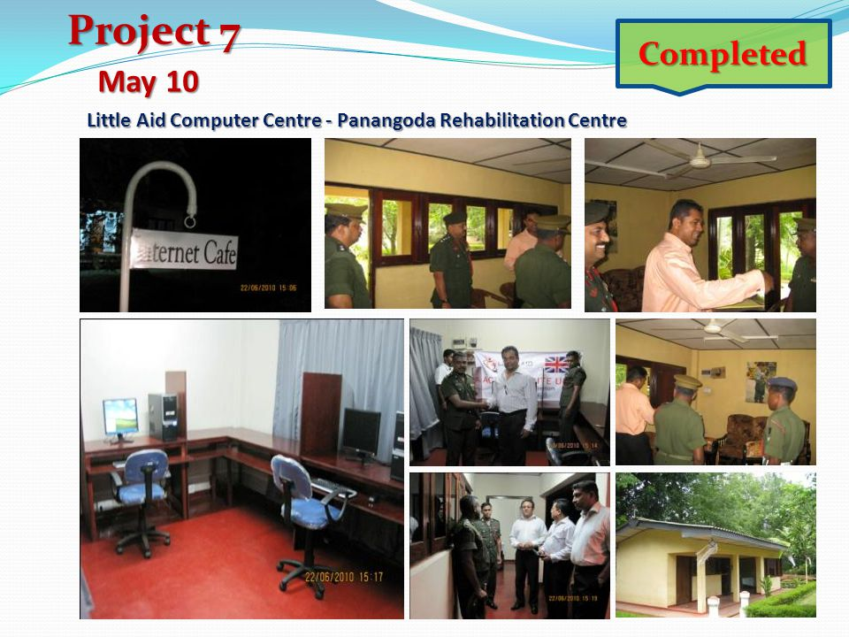 Little Aid Computer Centre - Panangoda Rehabilitation Centre