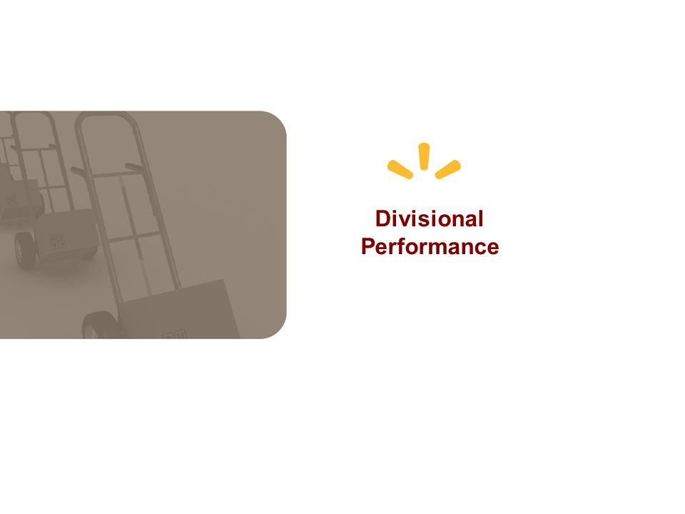 Divisional Performance