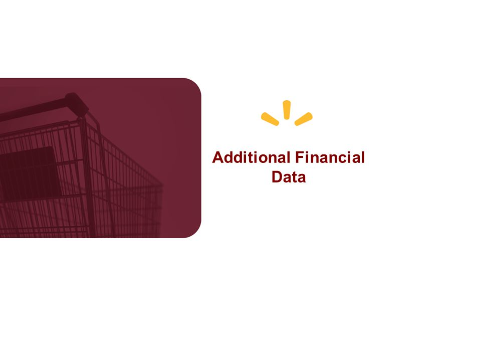Additional Financial Data
