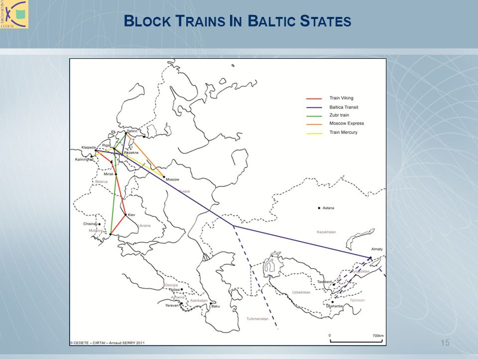 Block Trains In Baltic States