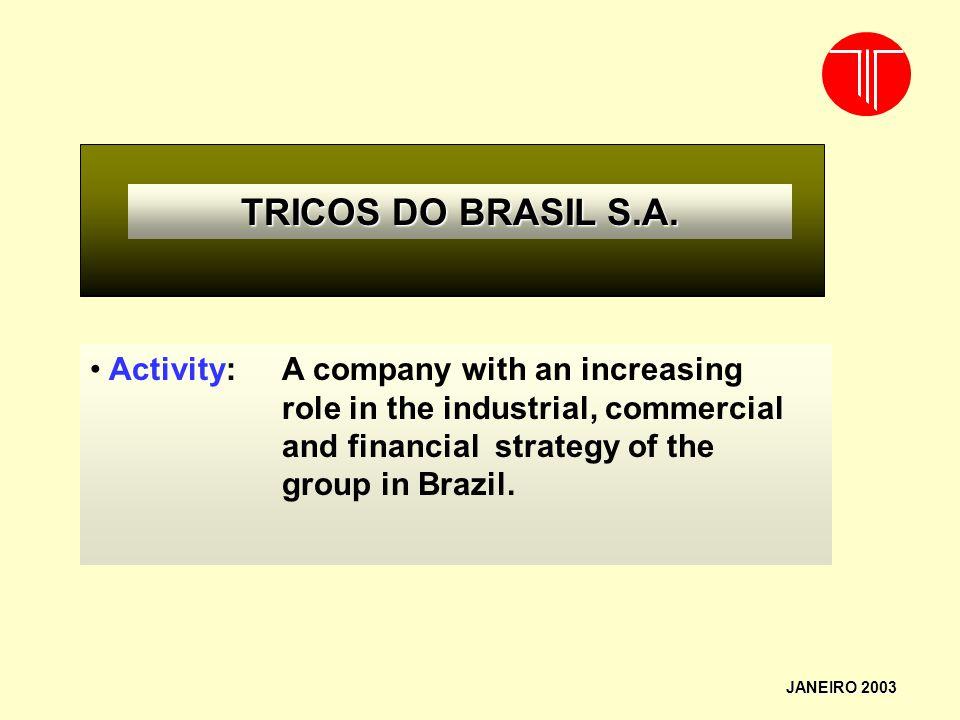 TRICOS DO BRASIL S.A.