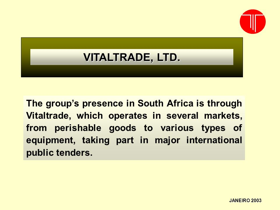 VITALTRADE, LTD.