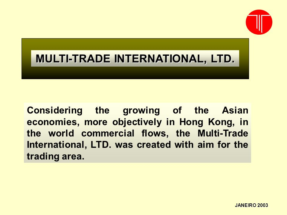 MULTI-TRADE INTERNATIONAL, LTD.