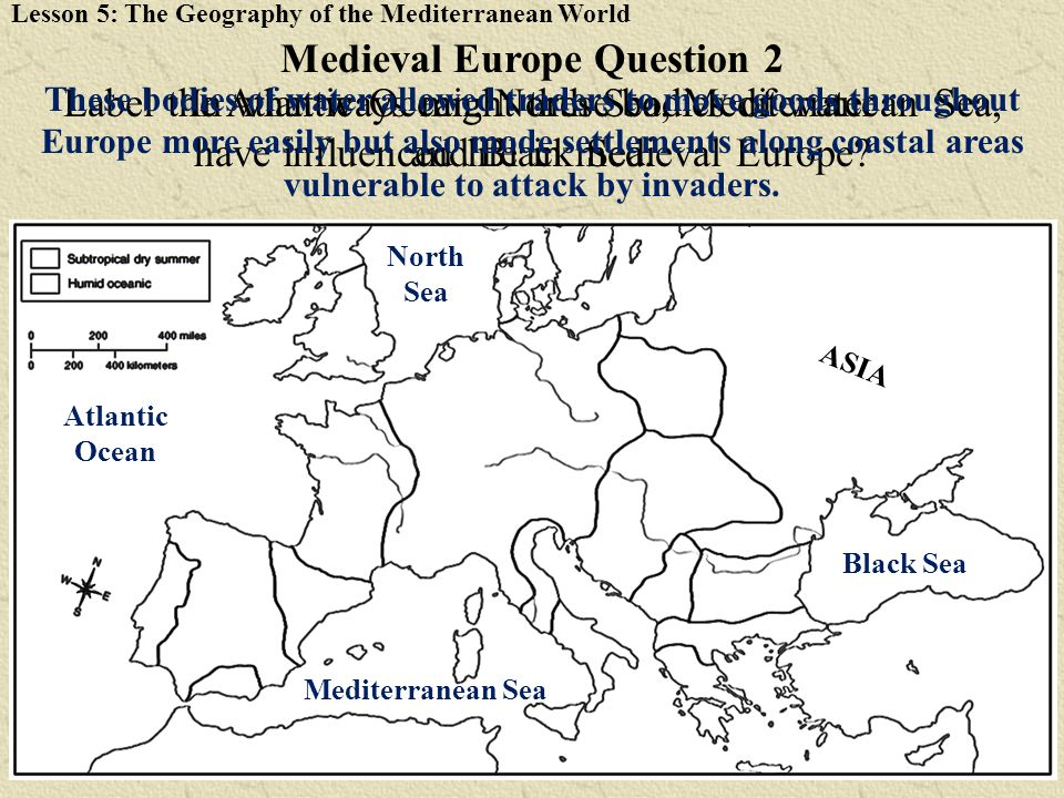 Medieval Europe Question 2
