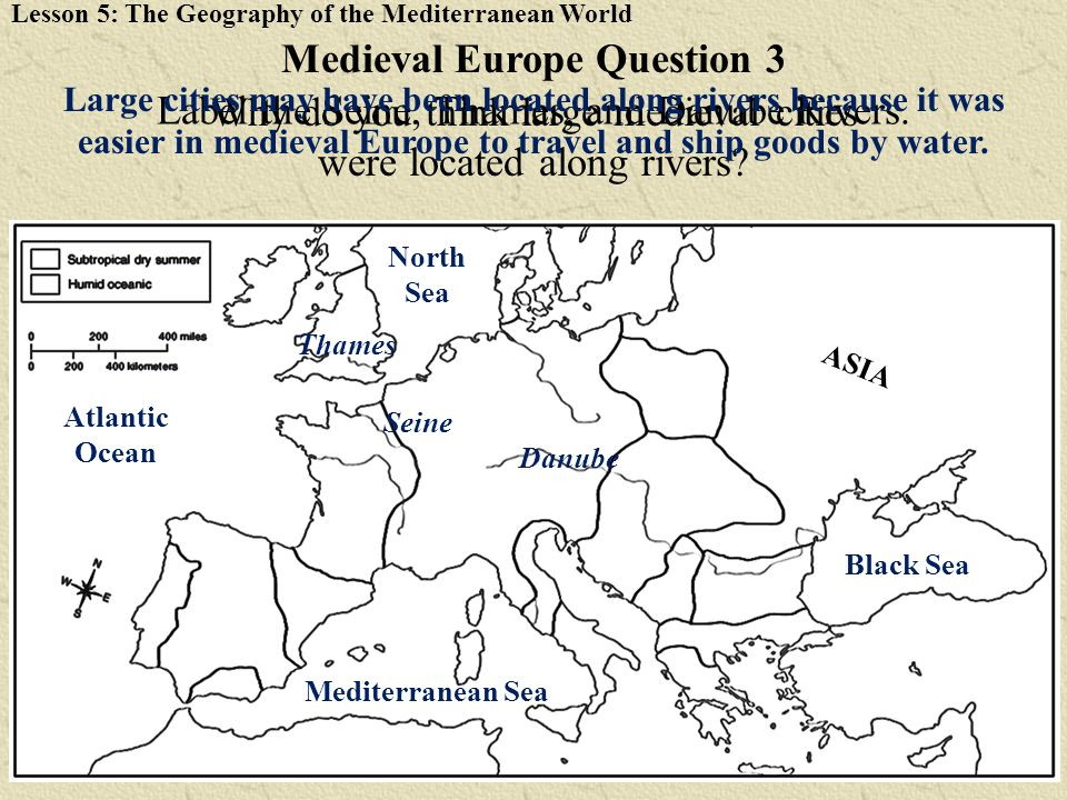 Medieval Europe Question 3