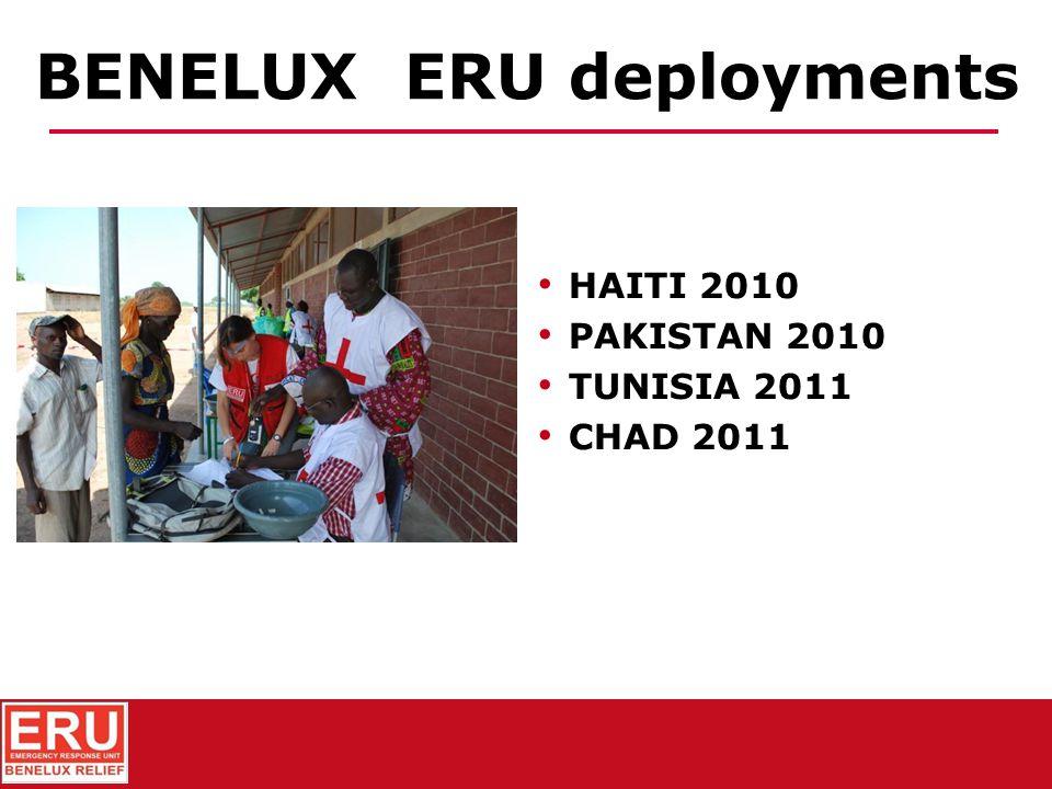 BENELUX ERU deployments