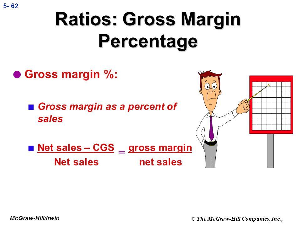 Ratios: Gross Margin Percentage
